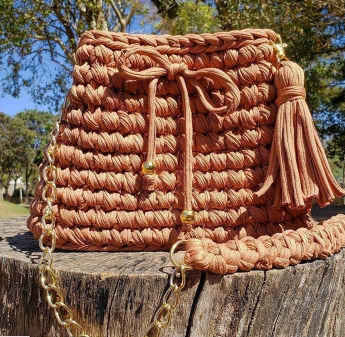 bolsa grande com laço