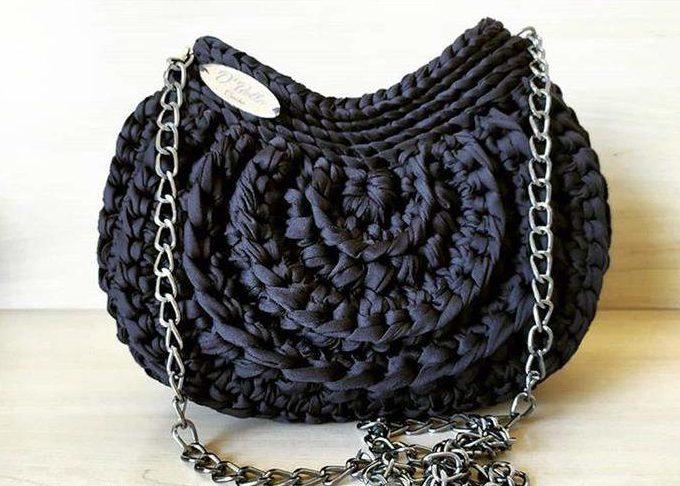 bolsa com alça preta