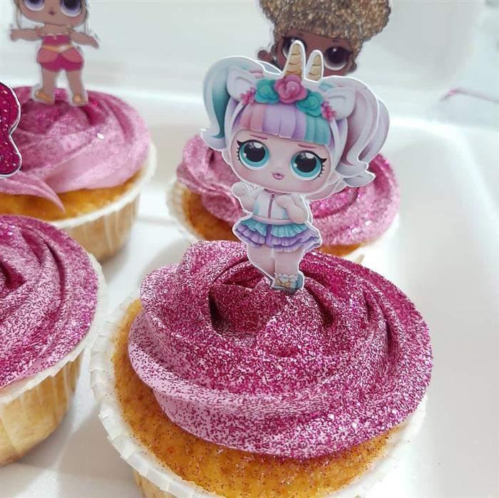 doces de festa decorado