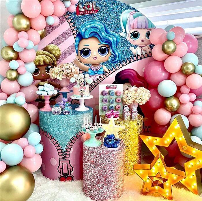 festa da lol decoração