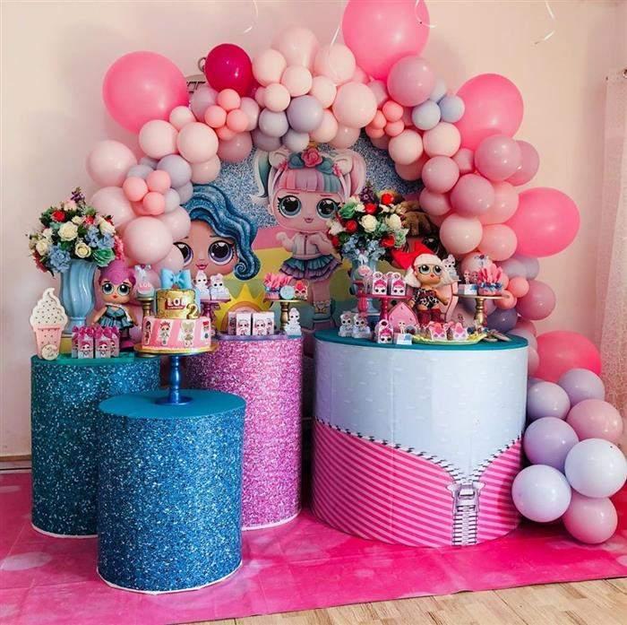 festa de aniversário da lol