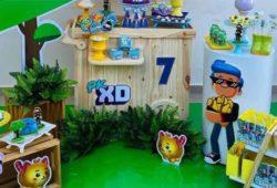 festa pk xd decoração