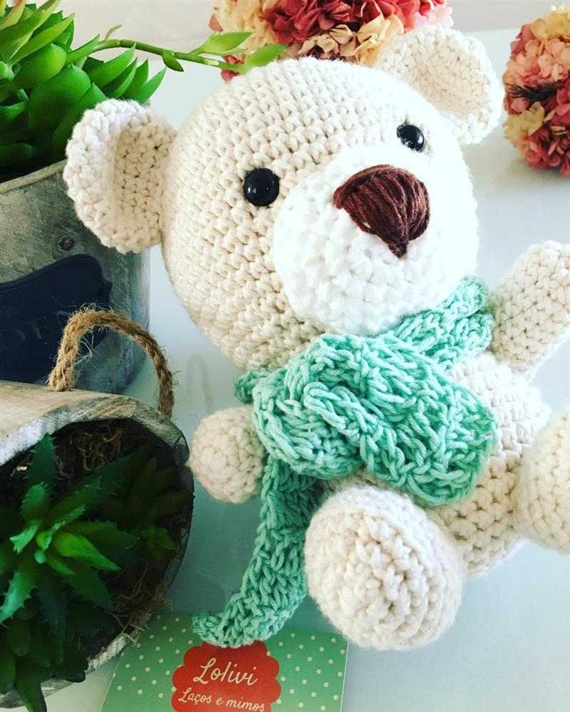 cachecol para urso