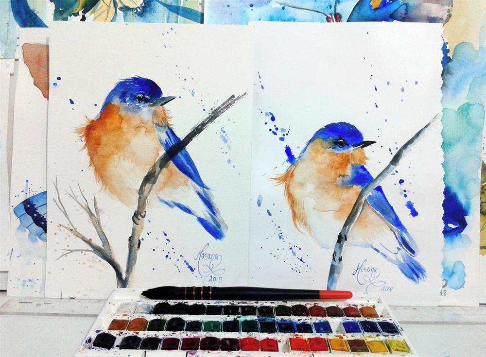 principais técnicas de pintura