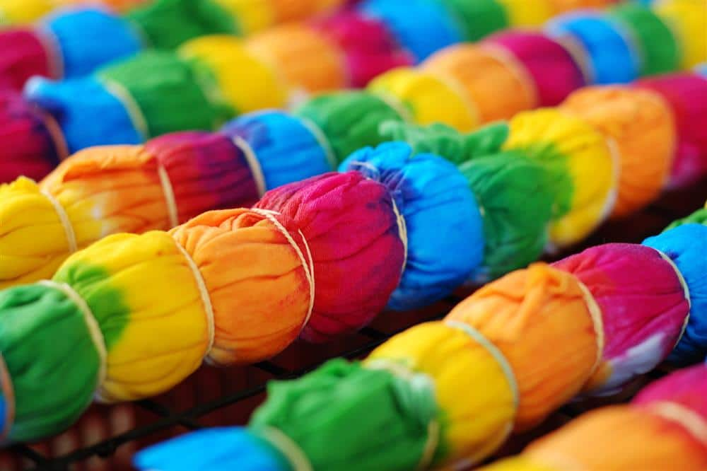 técnica tie dye
