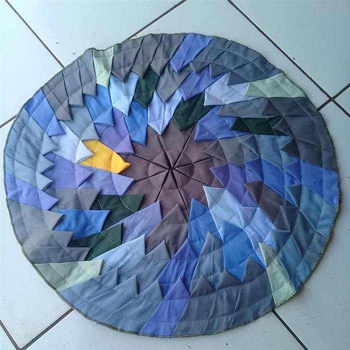 tapetes feito de retalho