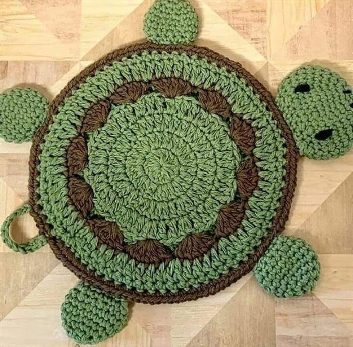 tartaruga de croche