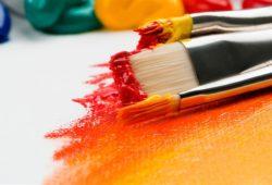 tipos de pintura em tela