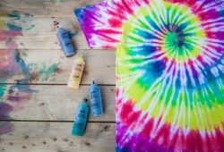 técnica para fazer tie dye fácil