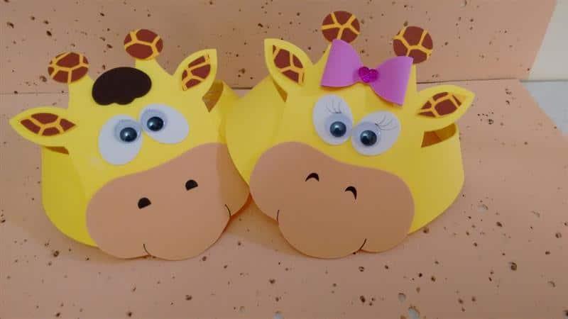 viseira de girafa