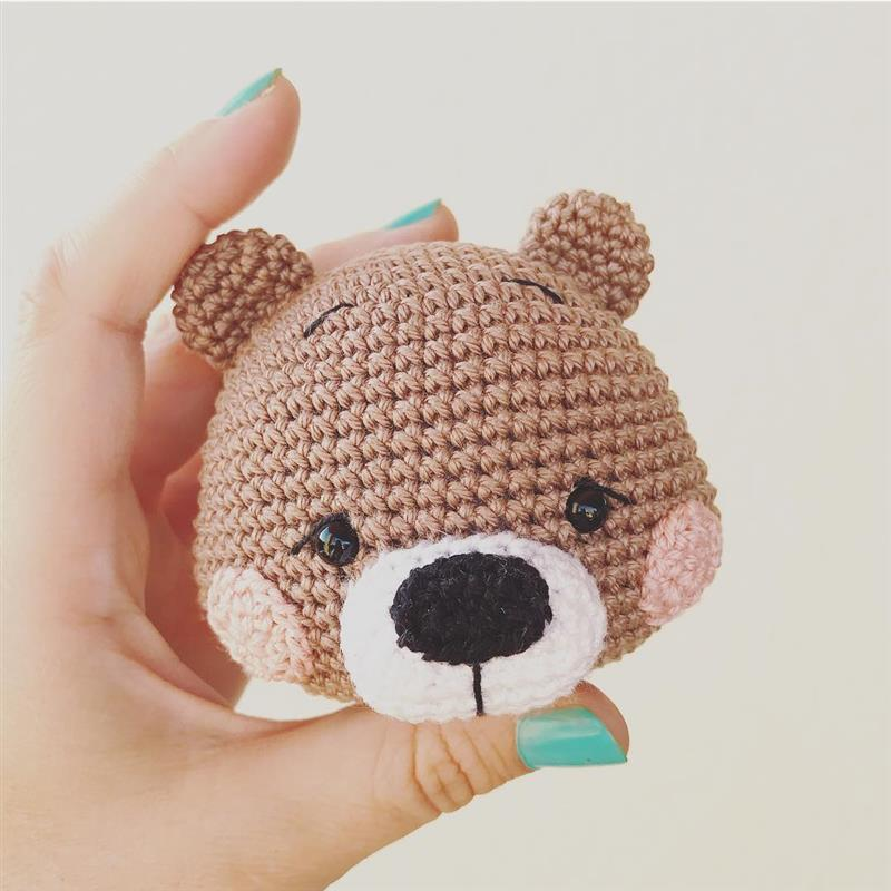 como fazer urso amigurumi