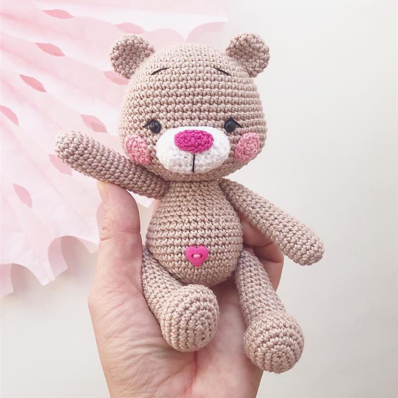 amigurumi rosa