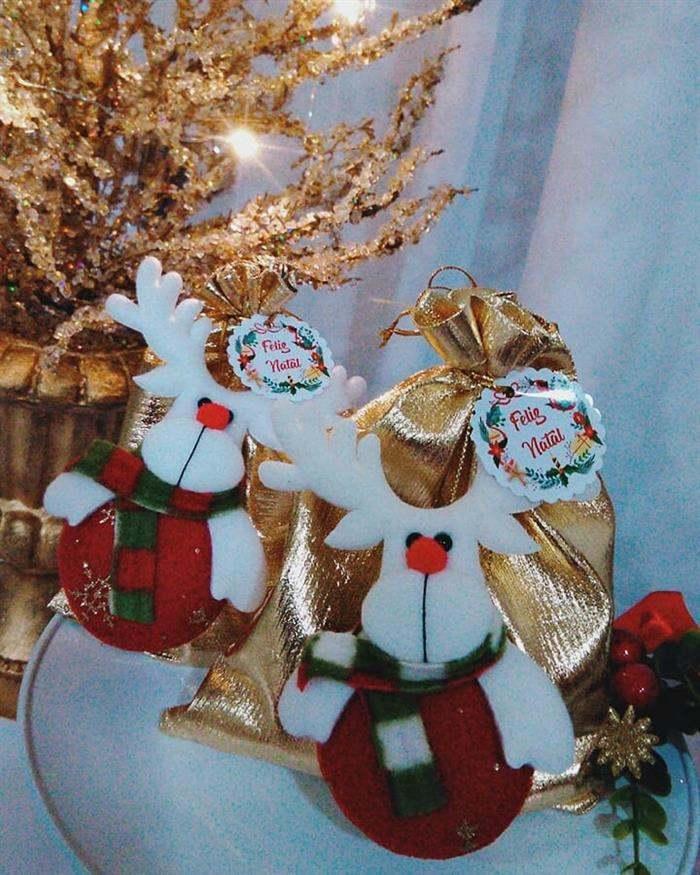 sacolinhas de natal decoradas