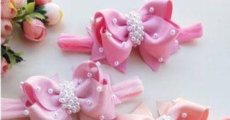 laço boutique na cor rosa