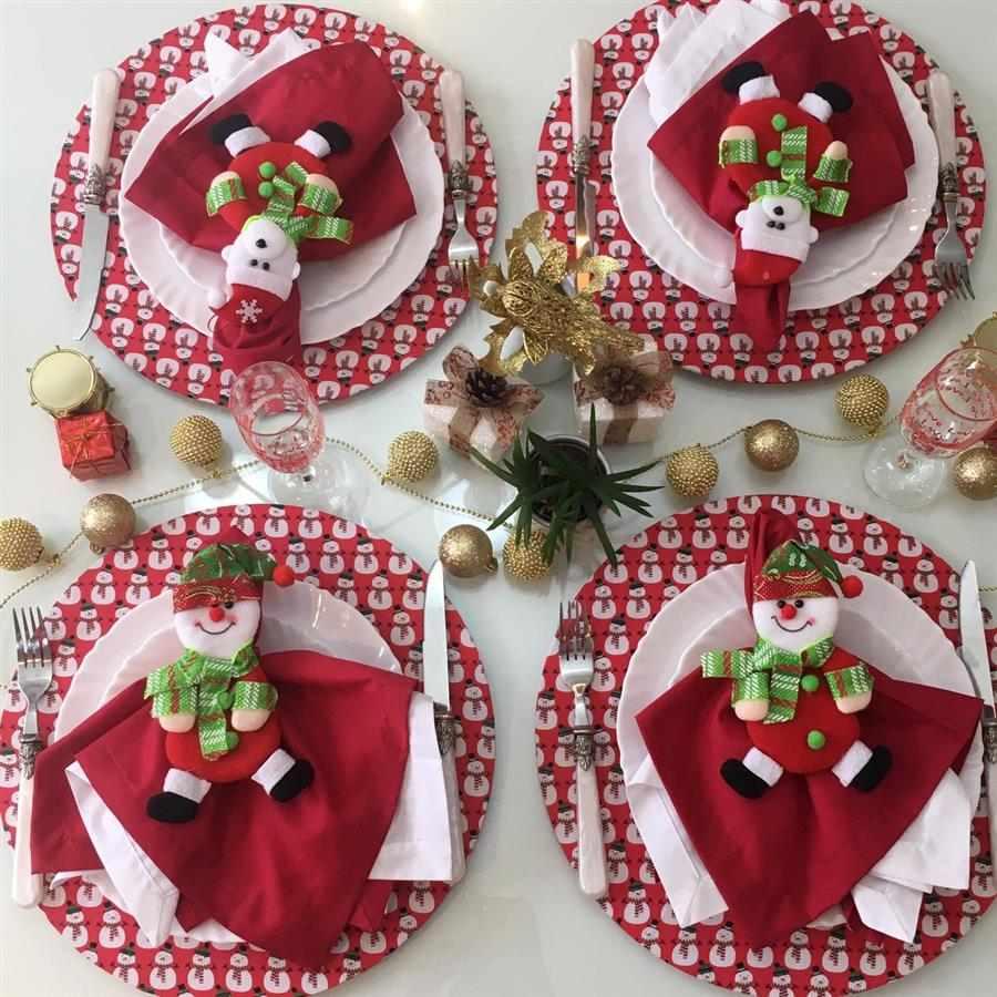 Capa para sousplat de Natal