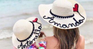 chapeus personalizados com nome