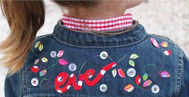 Jaqueta infantil personalizada