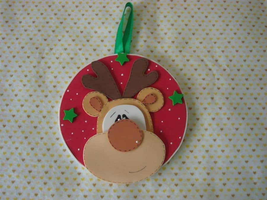 Guirlanda de EVA com CD