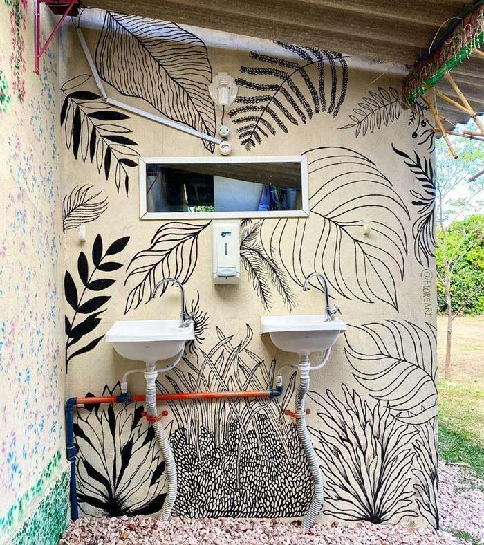 ideias de desenhos na parede