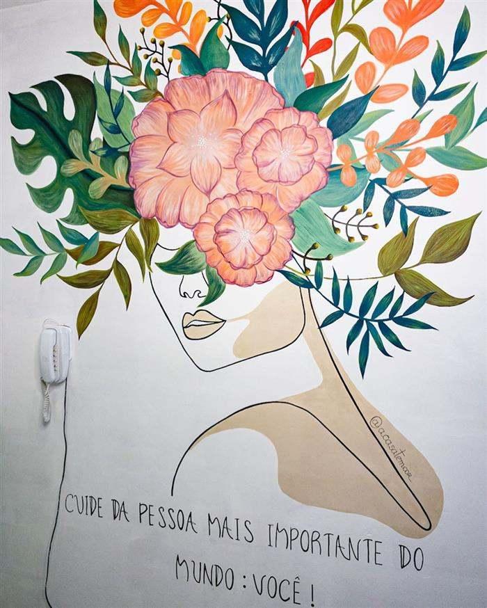 imagens de desenhos na parede