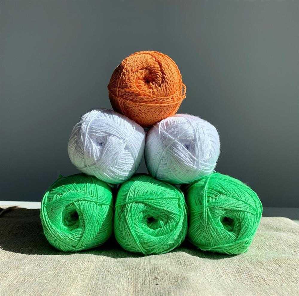 linhas de crochê