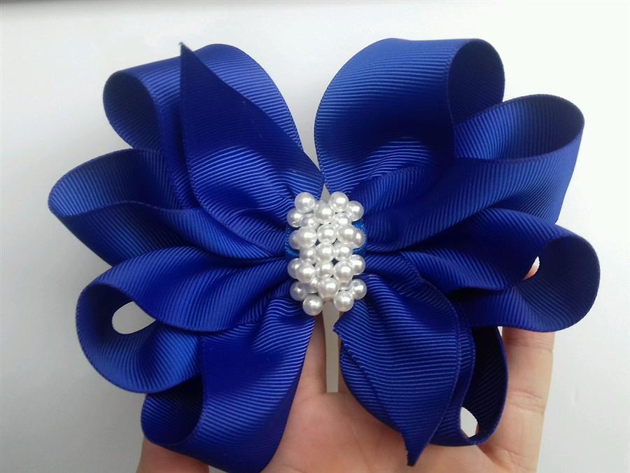 laço glamour em azul royal