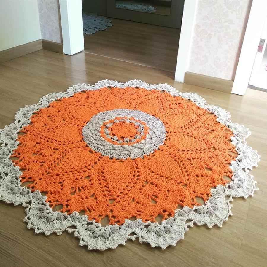laranja e branco