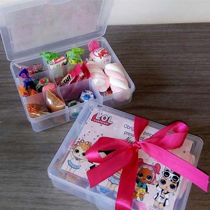 lembrancinhas para crianças com doces