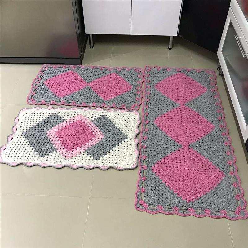 Jogo de tapete cronos de cozinha
