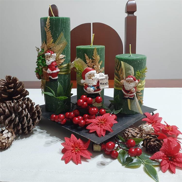 significado da vela de Natal