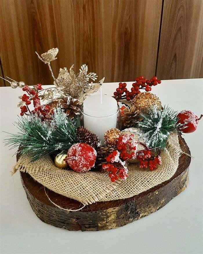 enfeite de natal artesanato
