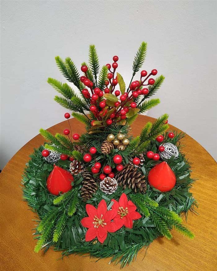 enfeite de natal festao