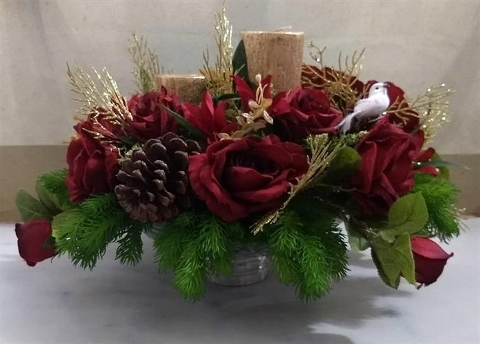 enfeite de natal para mesa