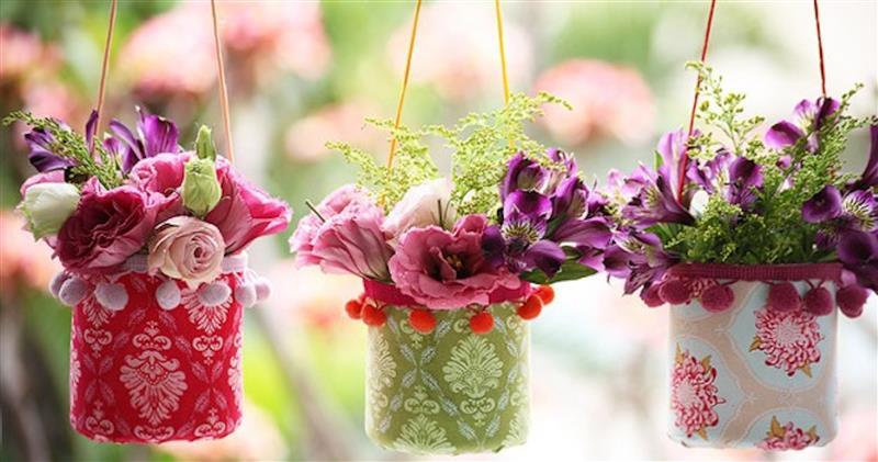 como decorar jardim com garrafa pet