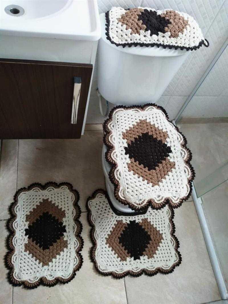 tapete cronos de banheiro