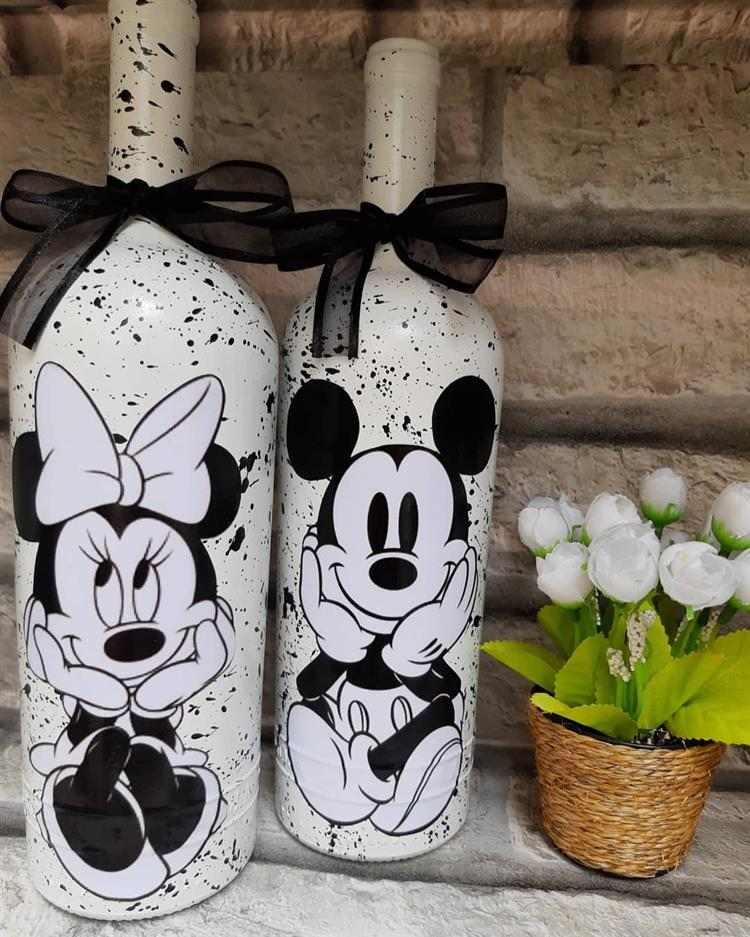 com tema Minnie e Mickey