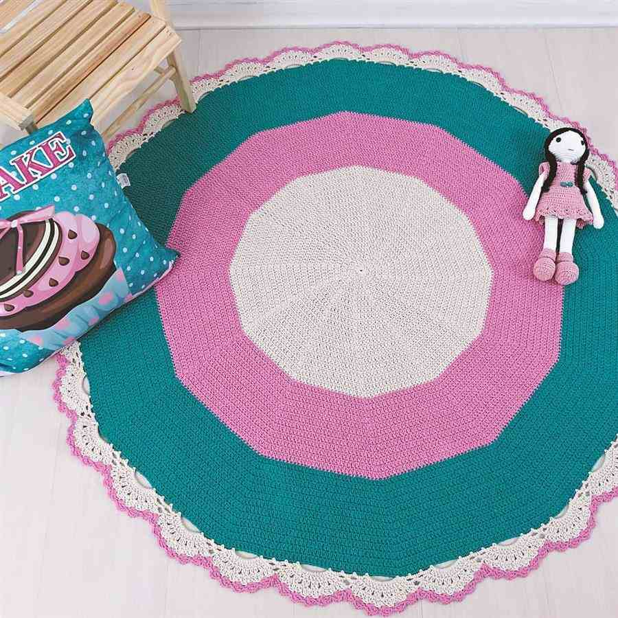 tapete para quarto feminino