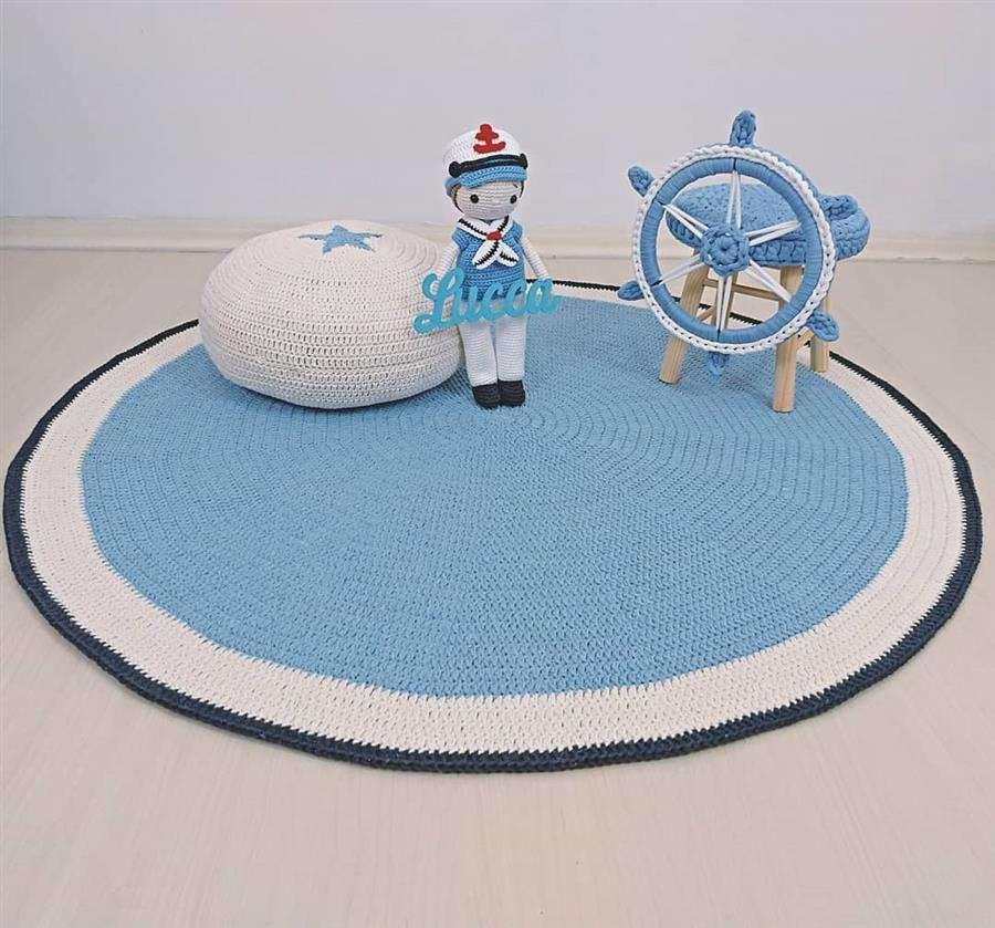 azul marinheiro para quartinho de bebê