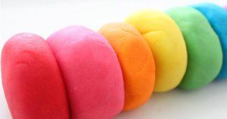 massinha colorida várias cores
