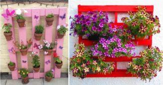 palete de flores