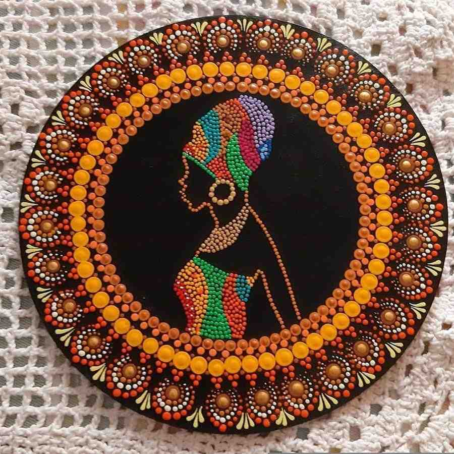 mandala africana