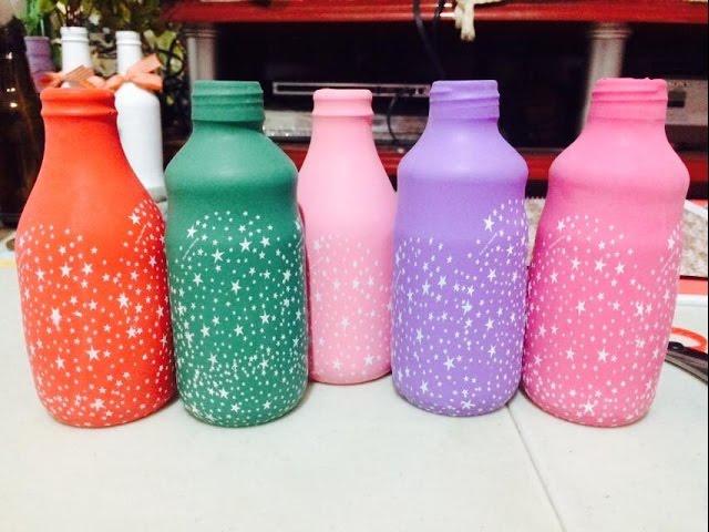 garrafas decoradas com bexigas