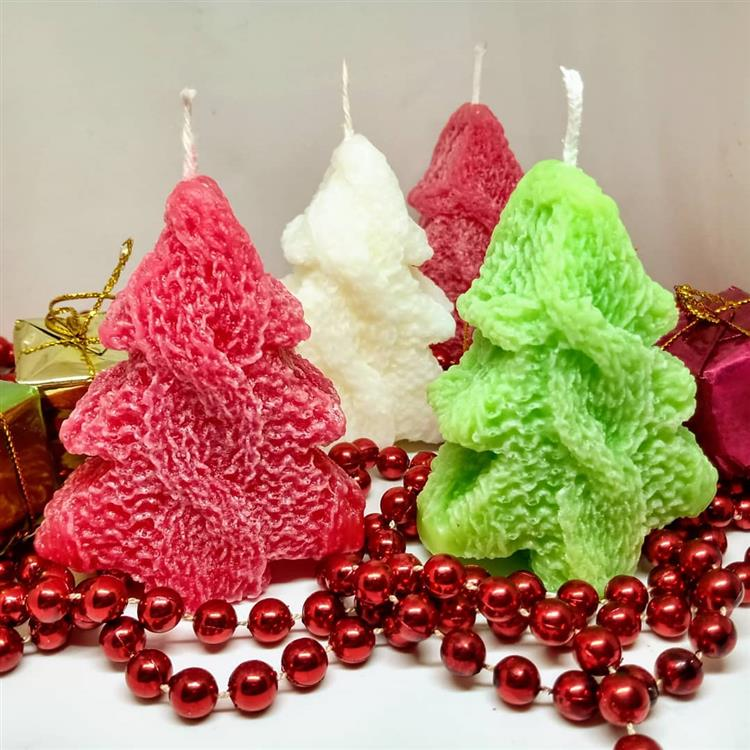 em formato de árvore de Natal