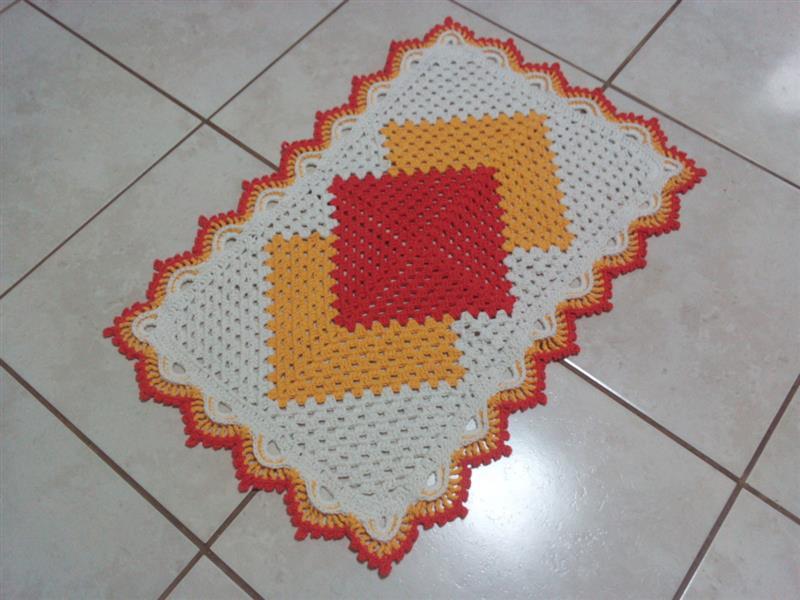 Como fazer tapete cronos de crochê