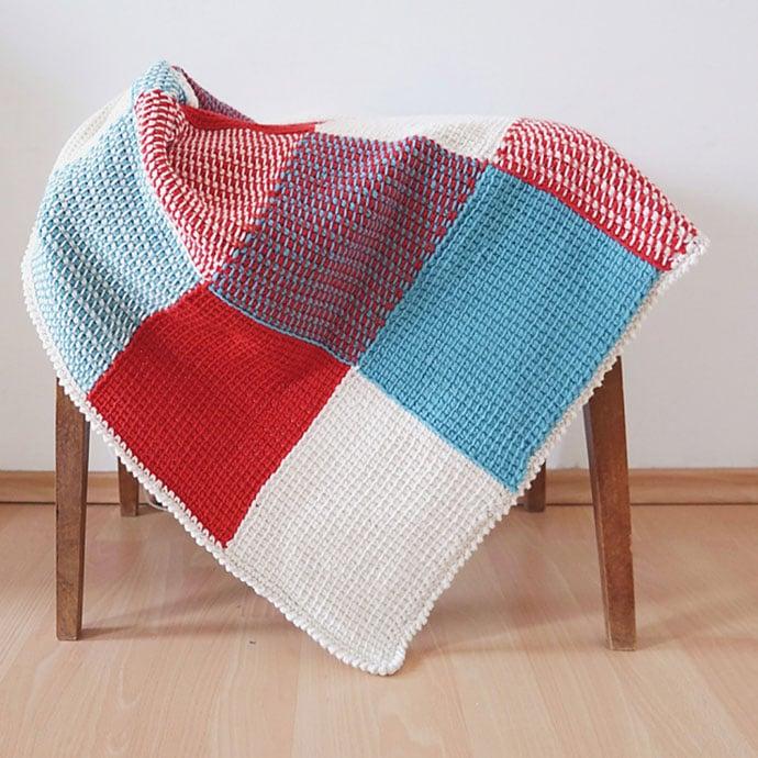 cobertor colorido