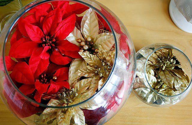 enfeite de Natal para mesa de festa