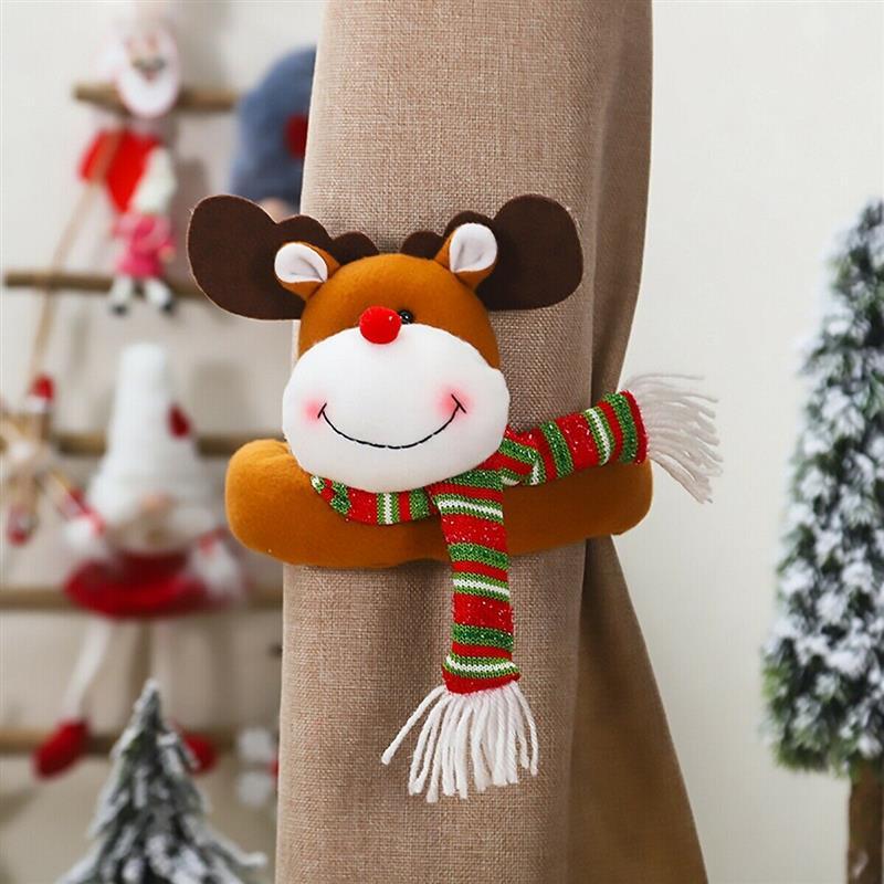 prendedor de cortina natalino