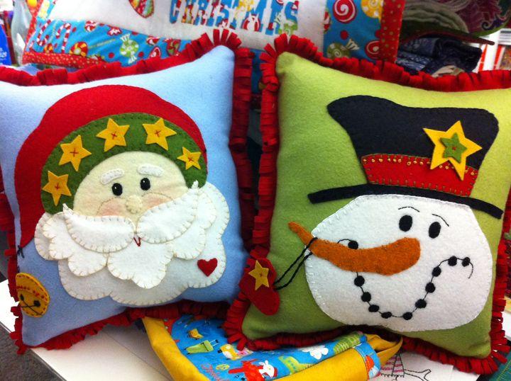 almofadas de natal artesanal