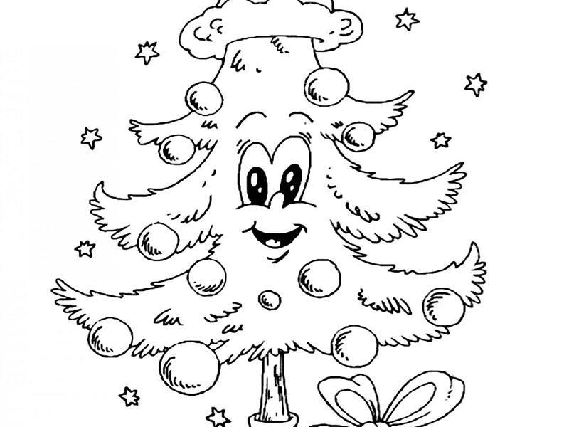 imagens de desenho de árvore de natal