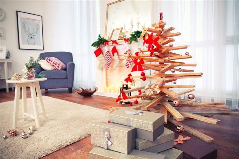 decoração de natal para sala pequena